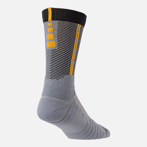 Front view of Unisex Nike Cleveland Cavaliers NBA Elite City Edition Quick Crew Basketball Socks