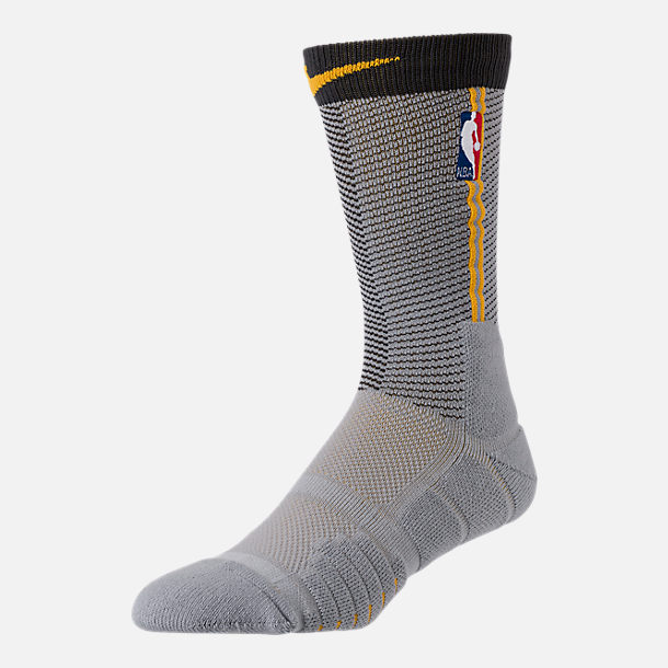 Back view of Unisex Nike Cleveland Cavaliers NBA Elite City Edition Quick Crew Basketball Socks