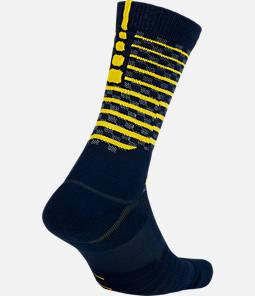 Unisex Nike Indiana Pacers NBA Elite City Edition Quick Crew Basketball Socks