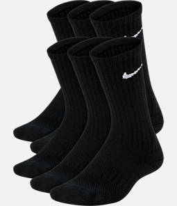 Kids' Nike 6-Pack Crew Socks Product Image
