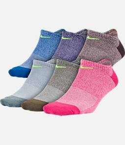 Women's Nike 6-Pack No-Show Socks