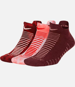 Women's Nike 3-Pack Marl No-Show Socks