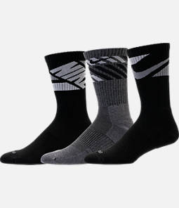 Nike Dri-FIT Graphic 3-Pack Crew Socks