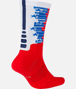 Unisex Nike Elite 1.5 Crew Fourth of July Basketball Socks