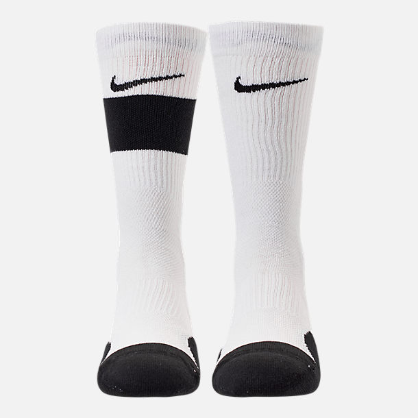 Back view of Kids' Nike Elite 2-Pack Crew Basketball Socks