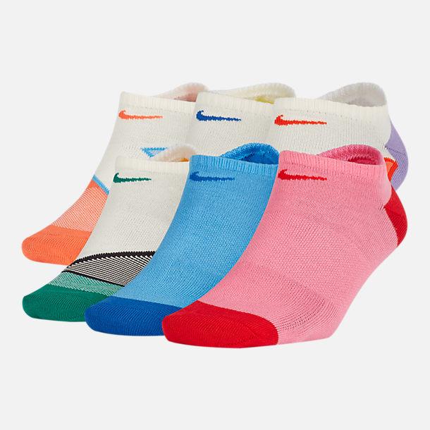 efbacc69 Women's Nike 6-Pack Everyday Cushion No-Show Training Socks