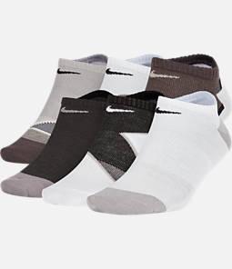 Women's Nike 6-Pack Everyday Cushion No-Show Training Socks