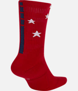 Unisex Nike Stars and Stripes Elite Crew Basketball Socks