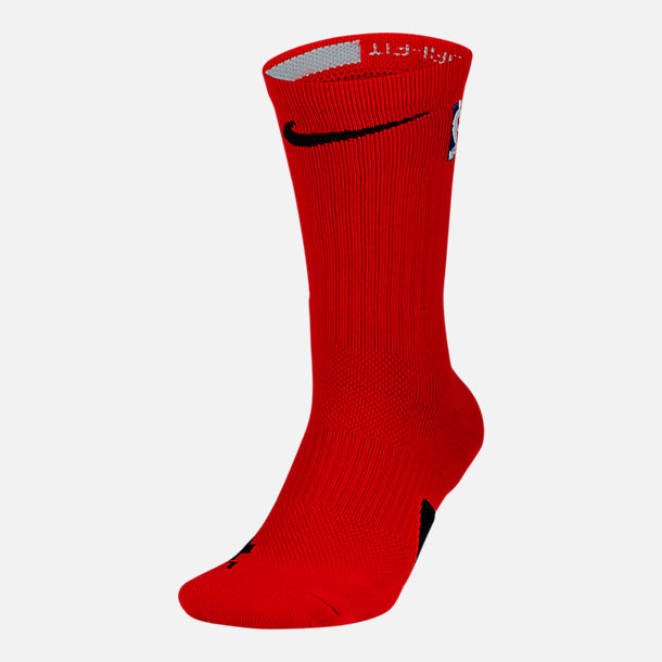 Front view of Men's Nike Elite NBA Crew Socks in Team Colors