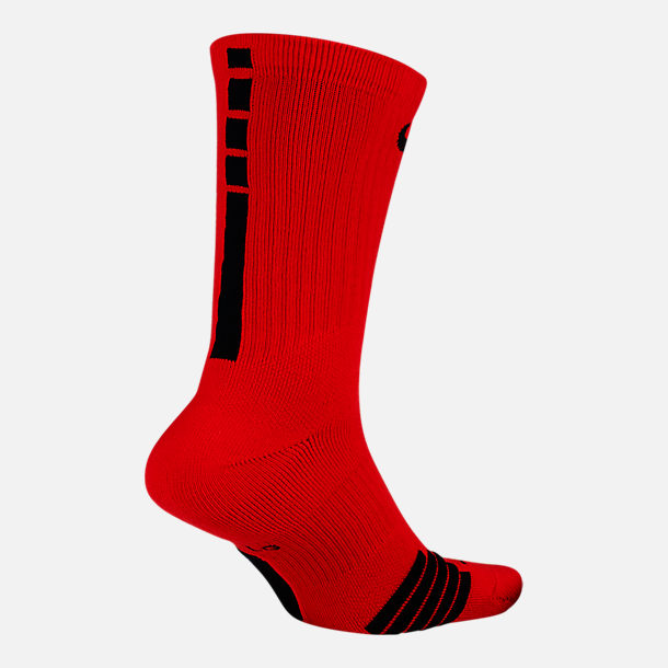 Back view of Men's Nike Elite NBA Crew Socks in Team Colors