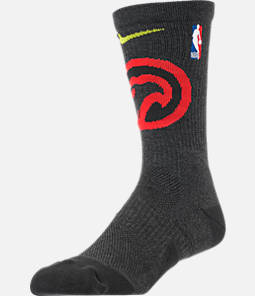Unisex Nike Atlanta Hawks NBA Team Elite Crew Basketball Socks