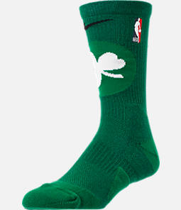 Unisex Nike Boston Celtics NBA Team Elite Crew Basketball Socks