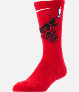 Unisex Nike Chicago Bulls NBA Team Elite Crew Basketball Socks