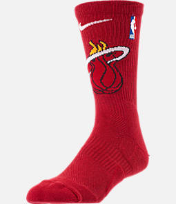 Unisex Nike Miami Heat NBA Team Elite Crew Basketball Socks