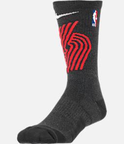 Unisex Nike Portland Trail Blazers NBA Team Elite Crew Basketball Socks