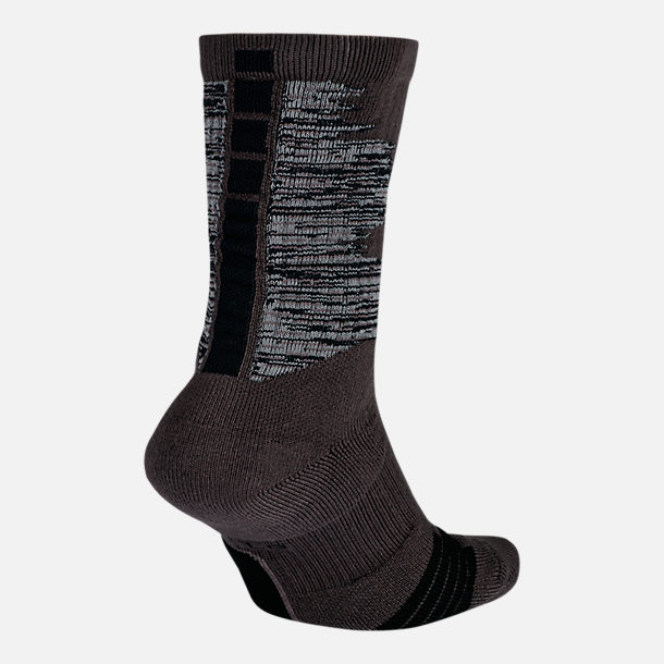 Front view of Unisex Nike Elite Graphic Basketball Crew Socks