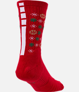 Unisex Nike Elite Christmas 1.5 Crew Basketball Socks