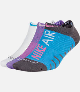 Women's Nike Air 3-Pack No-Show Training Socks