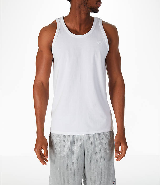 Front view of Men's Champion Classic Ringer Tank