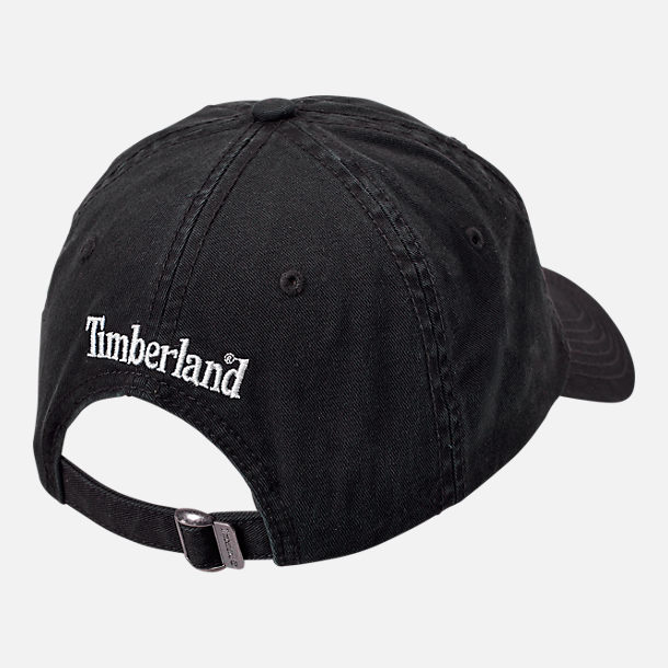 4111a1efb1e Alternate view of Timberland Cotton Strapback Dad Baseball Hat in Black