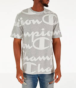 Men's Champion Heritage Allover Print Large Script T-Shirt