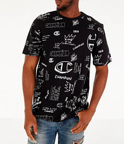 Men's Champion Heritage Scribble Script T-Shirt