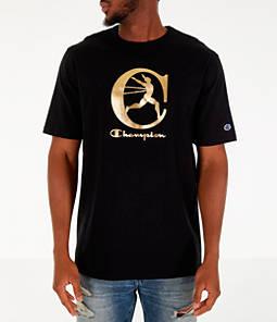 Men's Champion Metallic Running Man T-Shirt