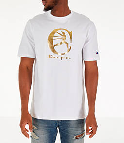 Men's Champion Metallic Running Man T-Shirt