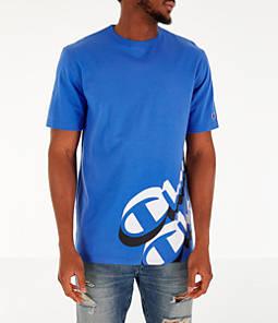 Men's Champion Panel Script T-Shirt