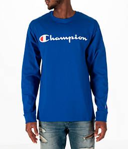Men's Champion Classic Graphic Long-Sleeve T-Shirt