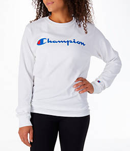 Women's Champion Cotton Long-Sleeve T-Shirt
