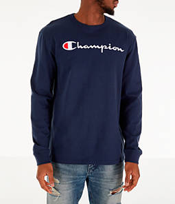 Men's Champion Heritage Logo Long Sleeve T-Shirt
