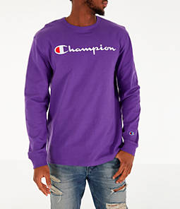 Men's Champion Heritage Logo Long Sleeve T-Shirt