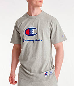 Men's Champion Century Collection Chenille Logo T-Shirt