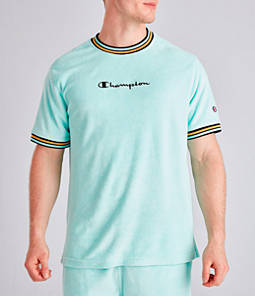 Men's Champion Terry Script T-Shirt