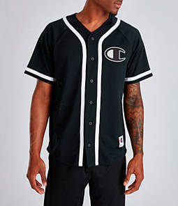 Men's Champion Mesh Baseball Jersey T-Shirt