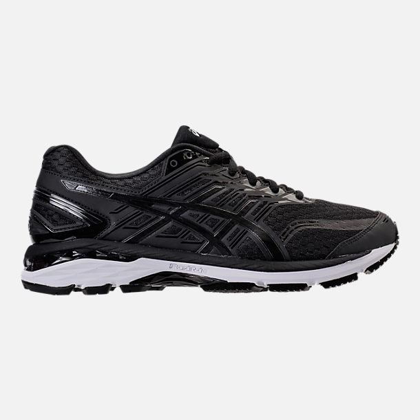Right view of Men's Asics GT-2000 5 Running Shoes in Black/Onyx/White
