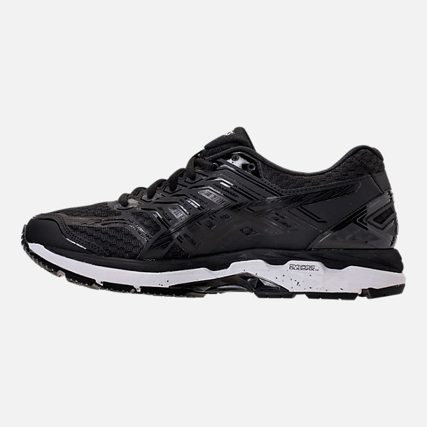Left view of Men's Asics GT-2000 5 Running Shoes in Black/Onyx/White