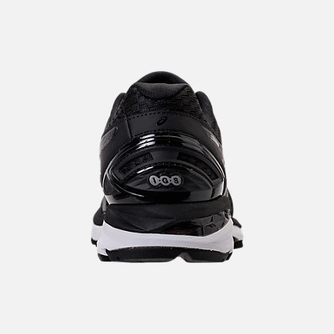 Back view of Men's Asics GT-2000 5 Running Shoes in Black/Onyx/White