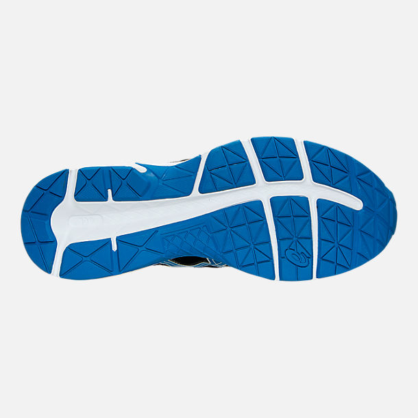Bottom view of Men's Asics GEL-Contend 4 Running Shoes in Silver/Classic Blue/Black