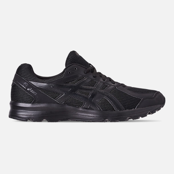 Right view of Men's Asics Jolt Running Shoes in Black/Onyx/Black