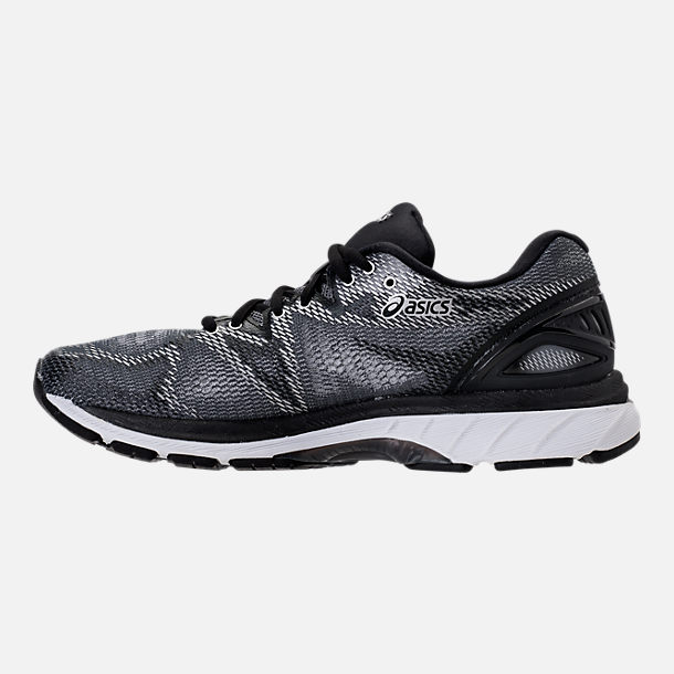 Left view of Men's Asics Nimbus 20 Running Shoes in Carbon/Black/Silver