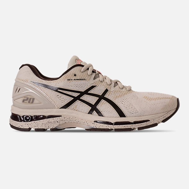 Right view of Men's Asics Nimbus 20 SP Running Shoes in Birch/Coffee/Blossom