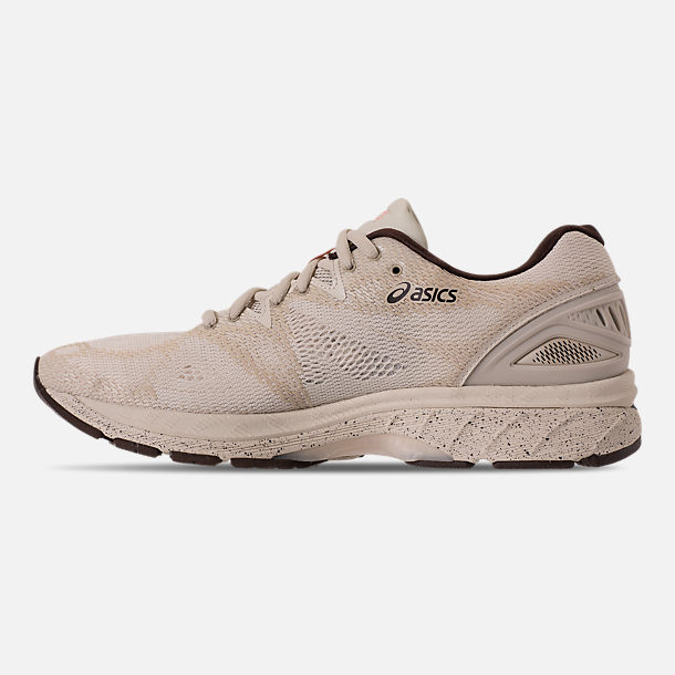 Left view of Men's Asics Nimbus 20 SP Running Shoes in Birch/Coffee/Blossom