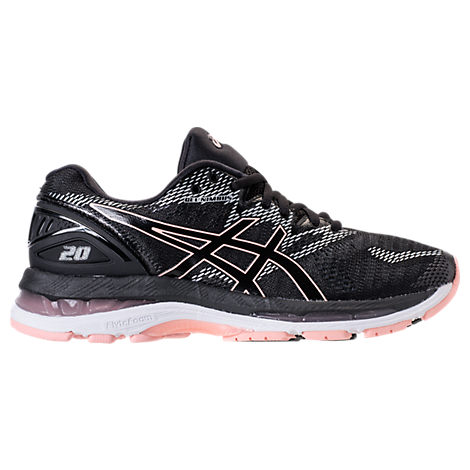 WOMEN'S GEL-NIMBUS 20 RUNNING SHOES, BLACK