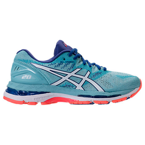 WOMEN'S GEL-NIMBUS 20 RUNNING SHOES, BLUE