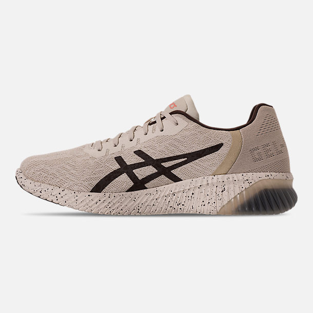 Left view of Men's Asics GEL-Kenun MX SP Running Shoes in Birch/Coffee/Blossom