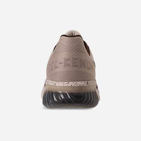 Back view of Men's Asics GEL-Kenun MX SP Running Shoes in Birch/Coffee/Blossom