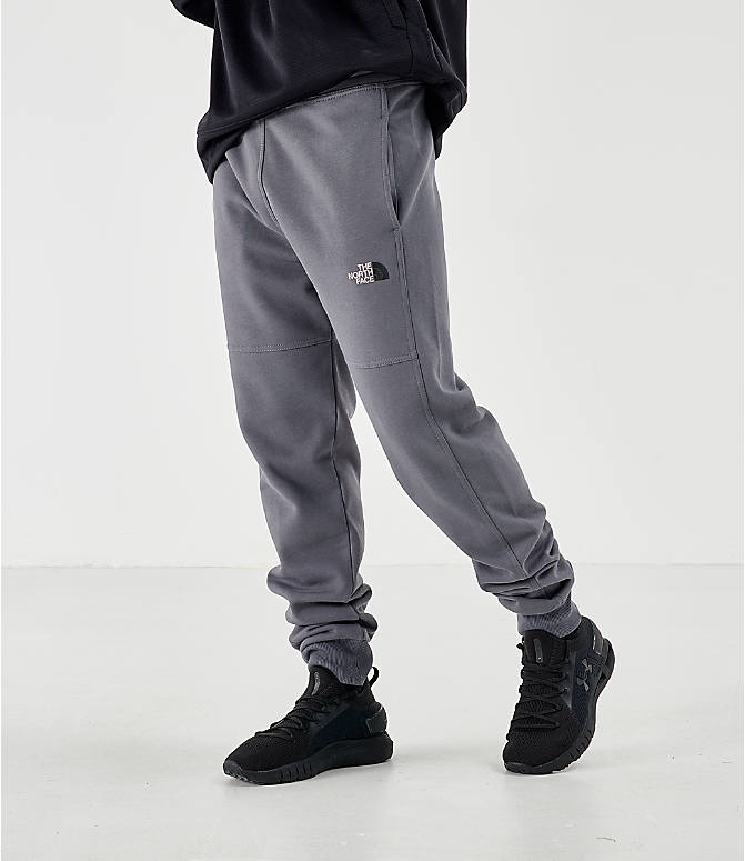 Front view of Men's The North Face Bondi Vanadis Jogger Pants in Grey