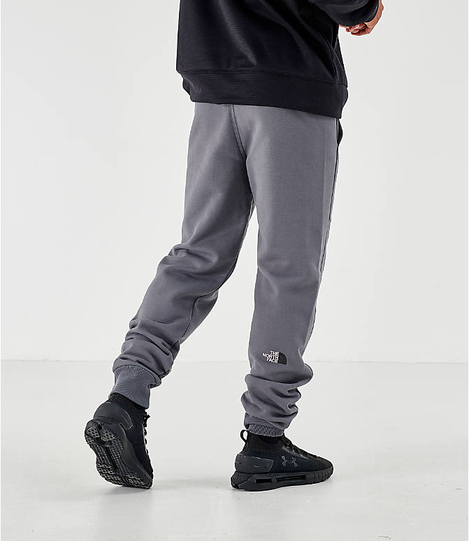 Back Left view of Men's The North Face Bondi Vanadis Jogger Pants in Grey